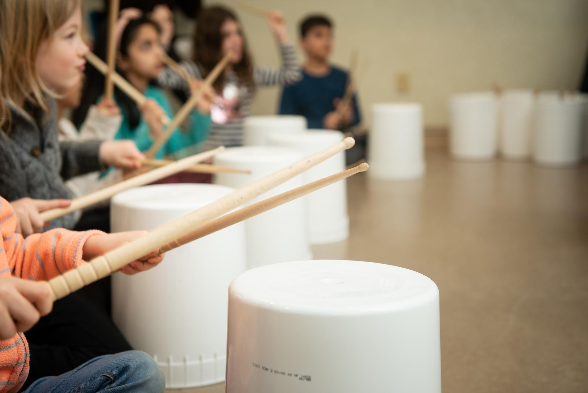 Crash Rhythm Virtual Bucket Drumming Workshop Culture Days